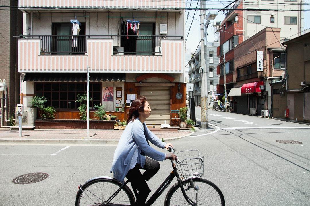 Asakusa Tokyo Bicyclist