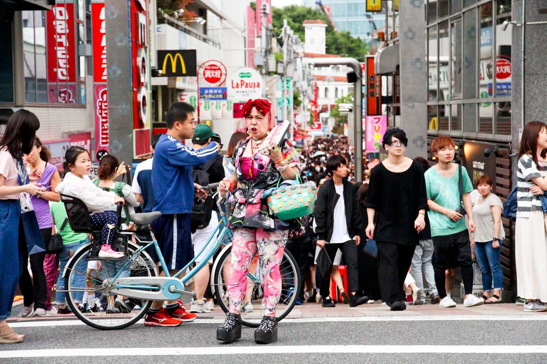 Takeshita Dori Harajuku Tokyo