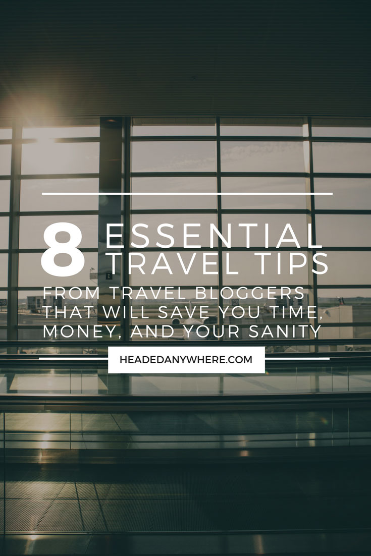 Travel tips to save time and money