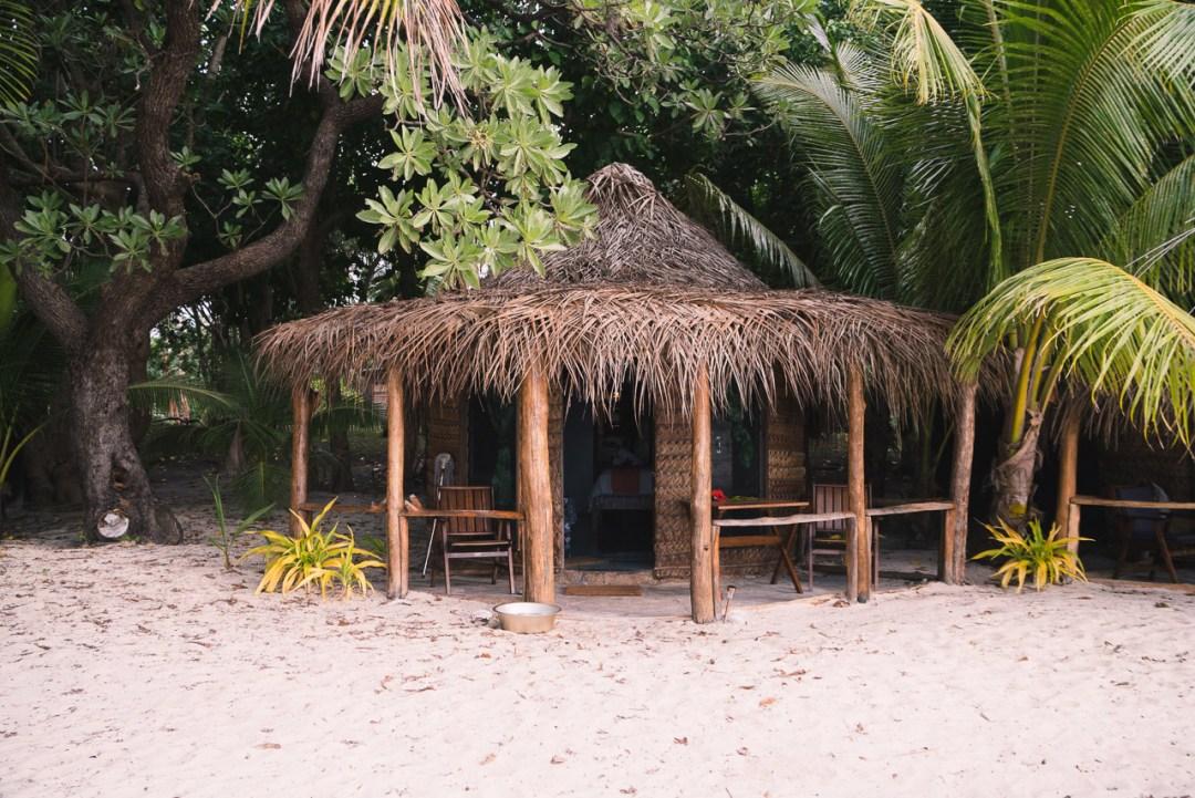 Treasure Island Tonga Beach Hut