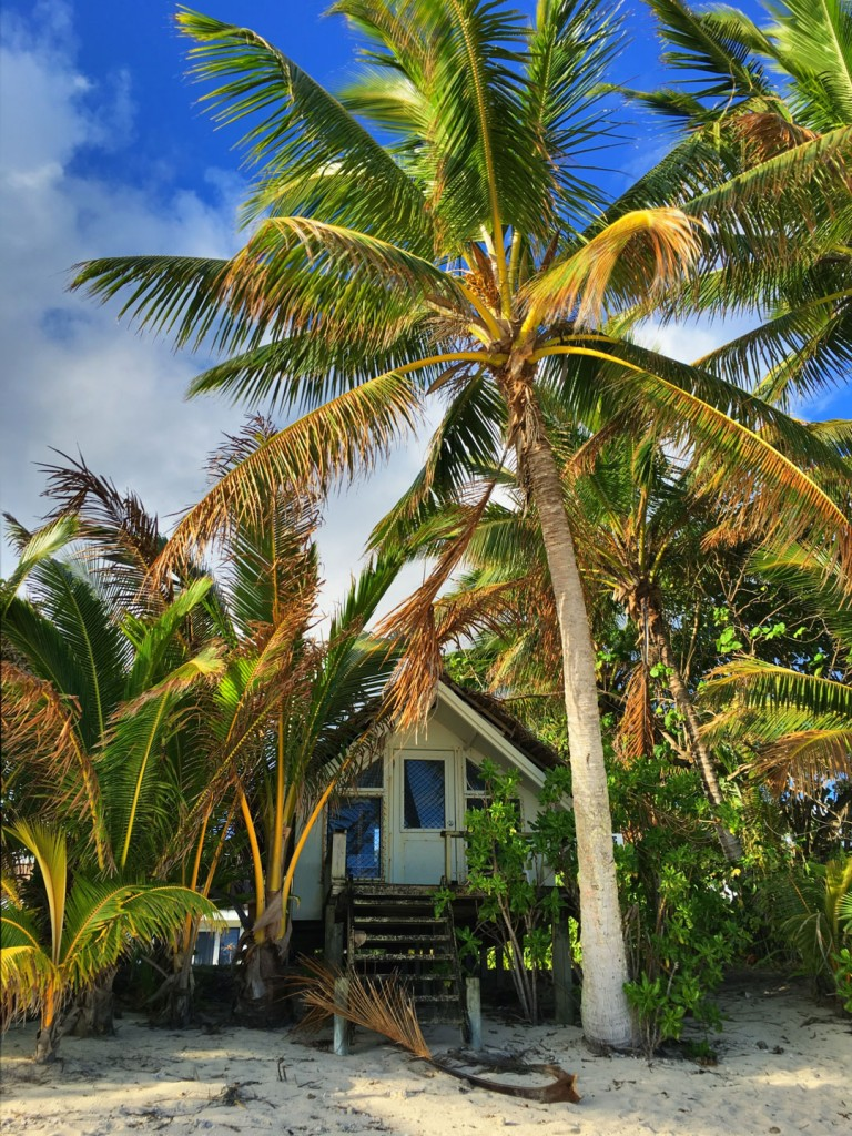 Little home on Titakaveka, Rarotonga, Cook Islands