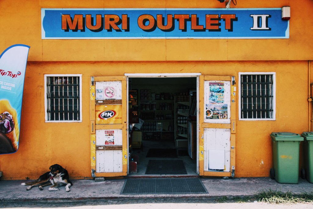 Muri Outlet storefront in Muri , Rarotonga Cook Islands