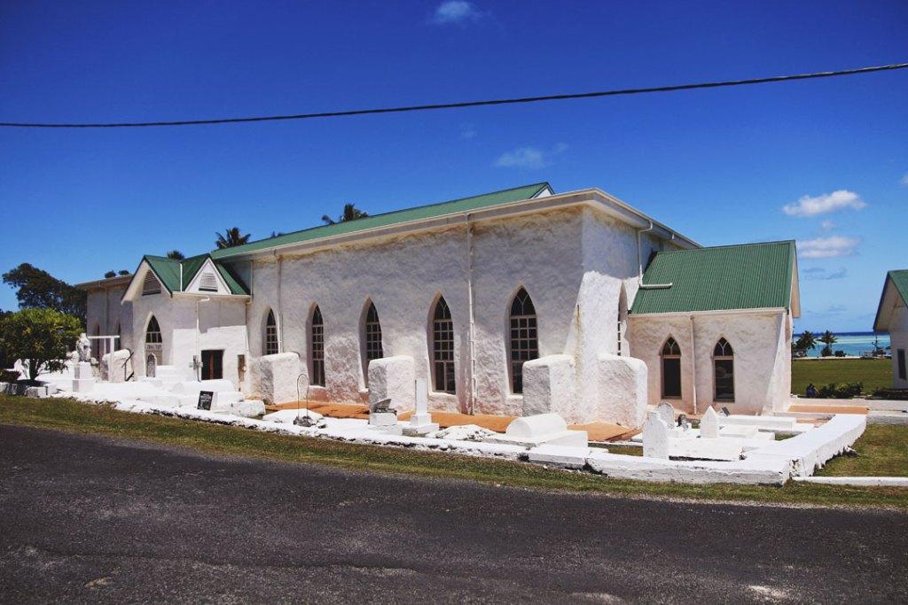 Cook Islands Christian Church in Aitutaki, Cook Islands
