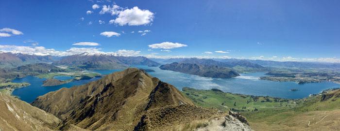 Roy's Peak Hike New Zealand Road Trip