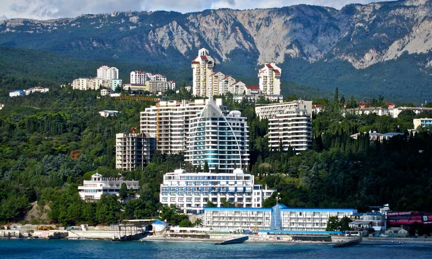 Sochi from the water