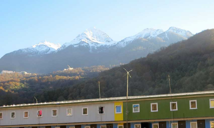 Sochi Olympic Mountains - Krasnaya Polyana
