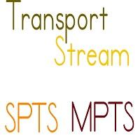 transport stream spts mpts