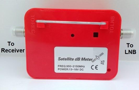 analog satellite finder rear
