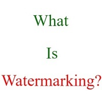 what is watermark