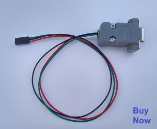 buy now rs232 port 3 pin to 9 pin cable for stb software upgrade