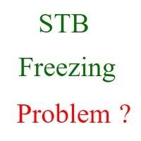 stb freezing problem
