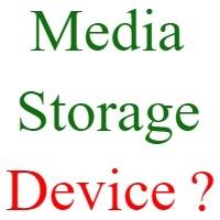 media storage device