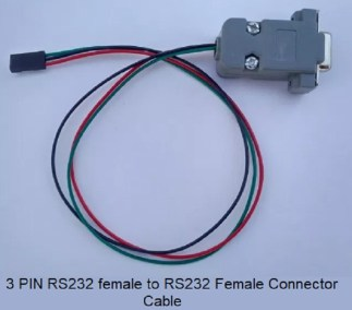 3 PIN RS232 female to RS232 Female Connector Cable RS232 Cables stb