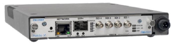 makito x4 haivision 4k encoder