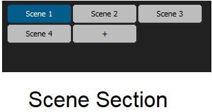 xsplit broadcaster scene selection