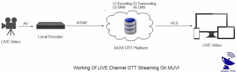 Pre Developed OTT Service Platform working