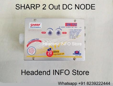 sharp dc node 2 out