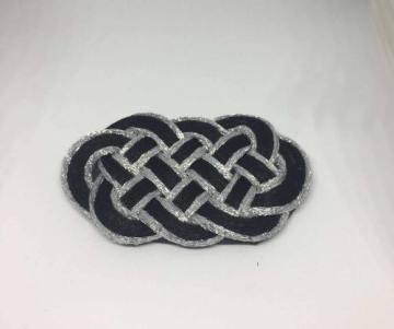 Knot_hairclip_grayblack