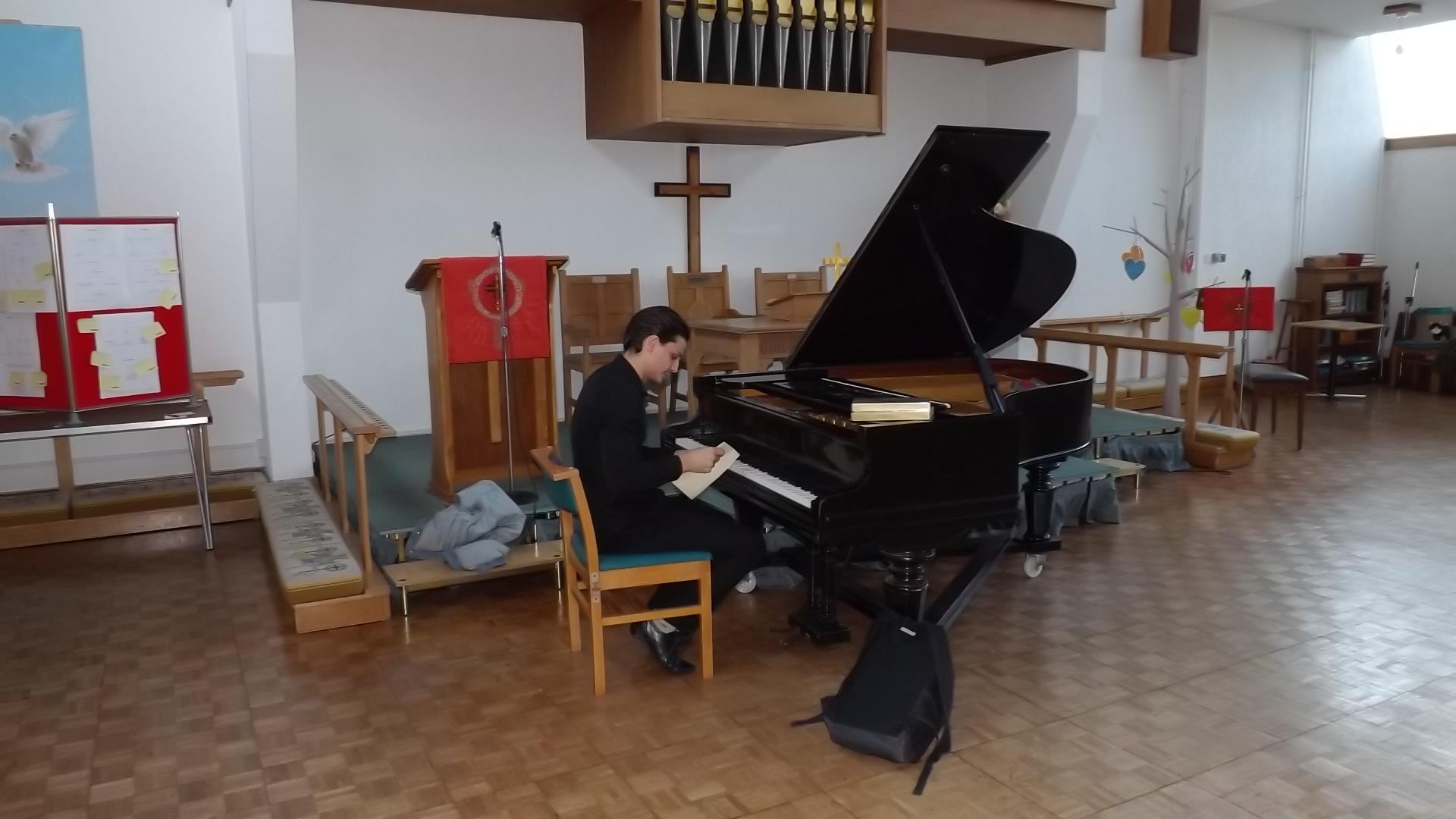 Joe Ordish Piano recital 6th August 2015