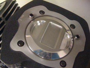 Custom piston machining