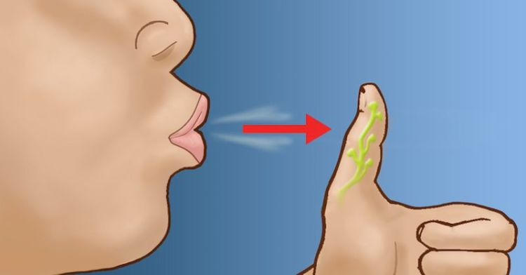 Если вы подуете на большой палец, это окажет удивительный эффект на организм!