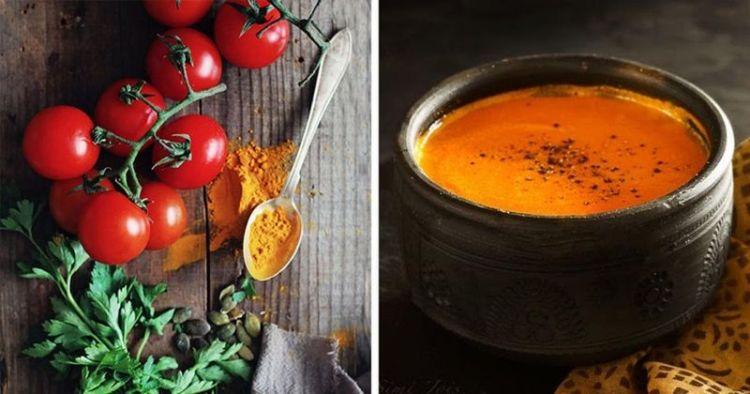 Суп из куркумы и овощей против рака и воспалений за 15 минут