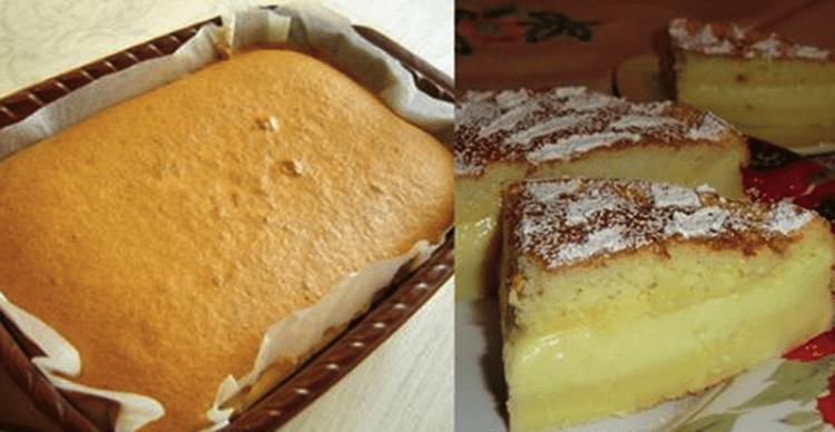 Умное пирожное, которое самостоятельно расслаивается на нежные коржи во время выпечки (пошаговый рецепт)