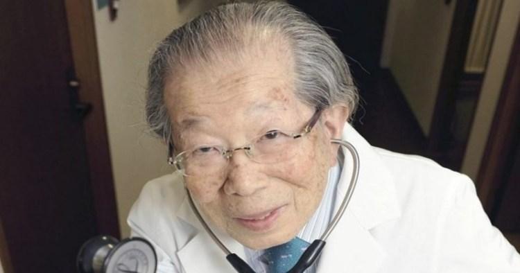 7 правил жизни от популярного японского врача, который дожил до 105 лет