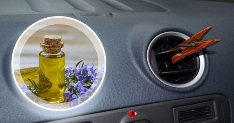 Эфирное масло и деревянная прищепка: необычная основа натурального освежителя для дома и авто