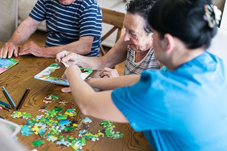 Частные пансионаты - достойный уход при старческой депрессии