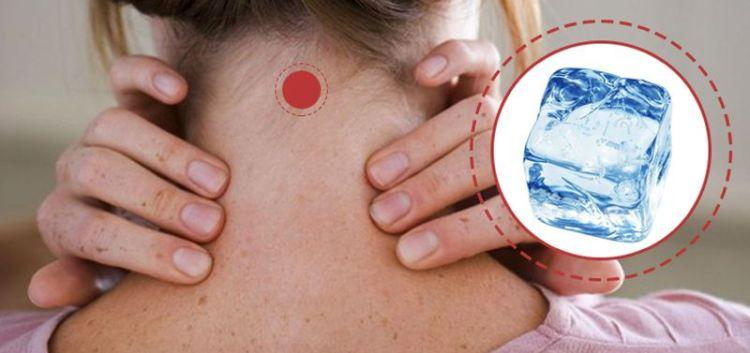 Зачем прикладывать лед к шее: об одной удивительной точке на теле, от которой исходит исцеление