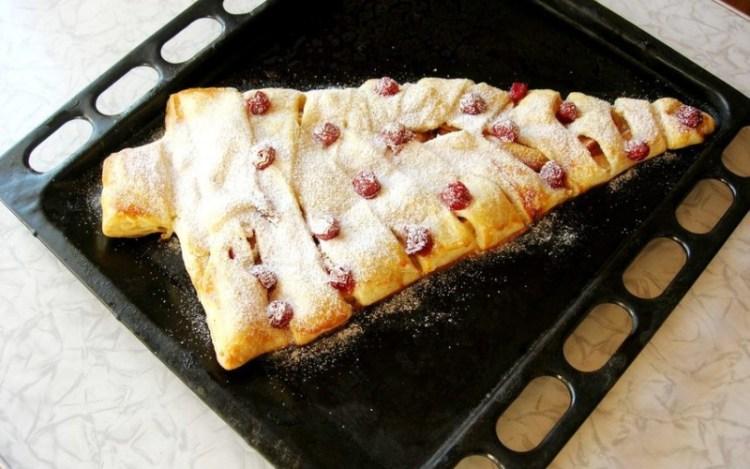 """Пирог """"Новогодняя елочка"""": сладкая волшебная сказка, что может родиться в вашей духовке"""