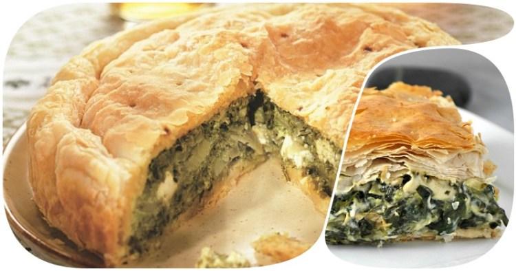 Спанакопитта: закрытый греческий пирог со шпинатом и странным названием