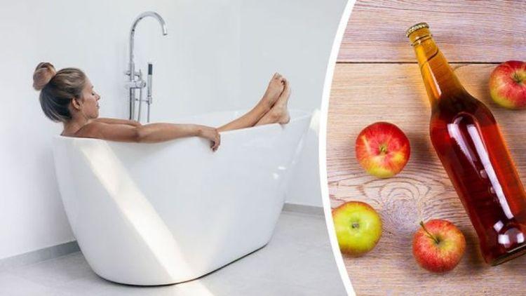 6 причин добавить яблочный уксус в вашу любимую ванну