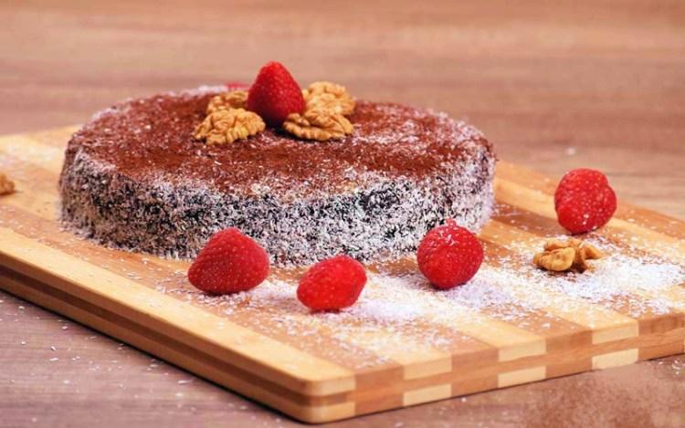 Веганский шоколадно-ореховый торт: готовим здоровый десерт и не вредим фигуре