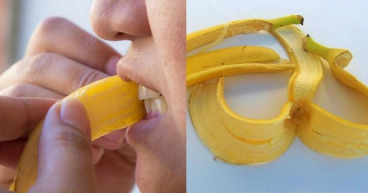 В банане полезна не только мякоть, или почему не стоит выбрасывать желтую кожуру