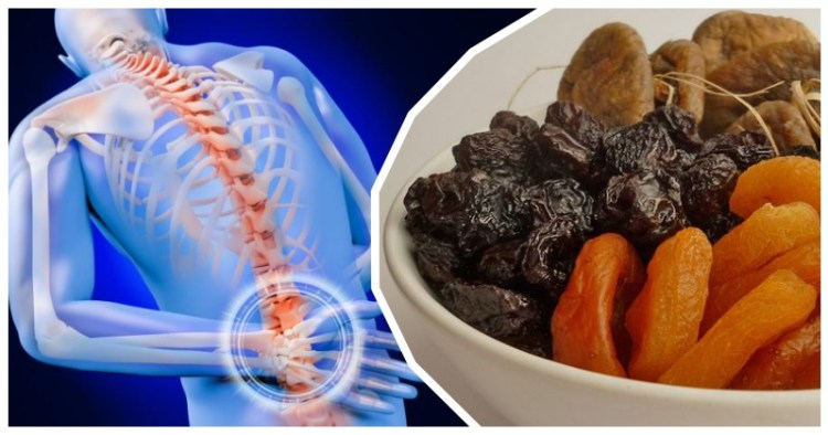 Инжир, чернослив и курага: целительная еда, от которой боль в спине и суставах уходят восвояси