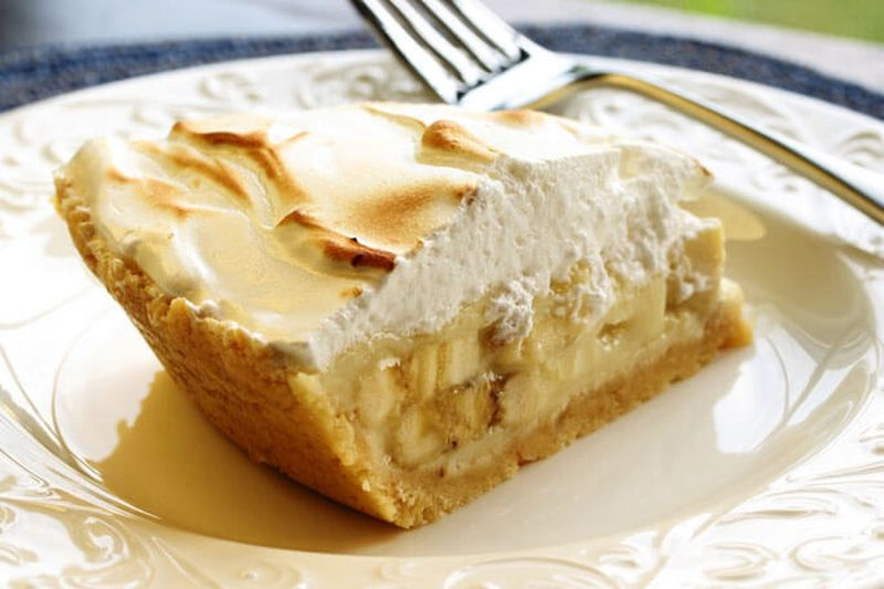 Торт без выпечки из печенья без сгущенки с желатином
