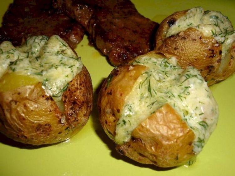 Картофель в духовке с сырными шариками: необыкновенный гарнир к любому блюду
