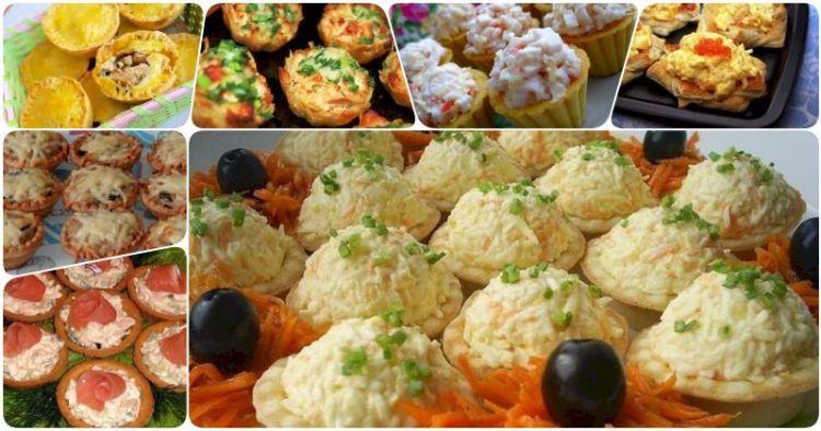 7 вкусных рецептов тарталеток с начинкой для изысканности праздничного стола