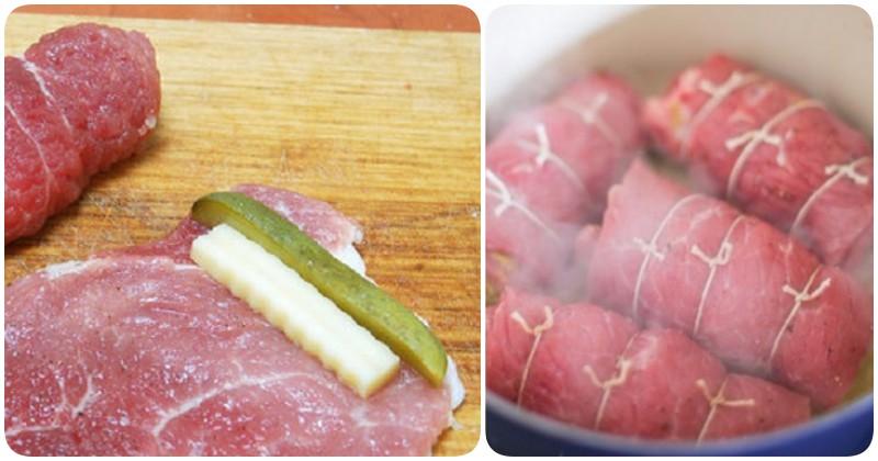 Готовим необычные пальчики из свинины: новое исполнение традиционных мясных рулетиков