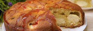 Воздушный пирог на кефире с творожными шариками: рецепт быстрой выпечки
