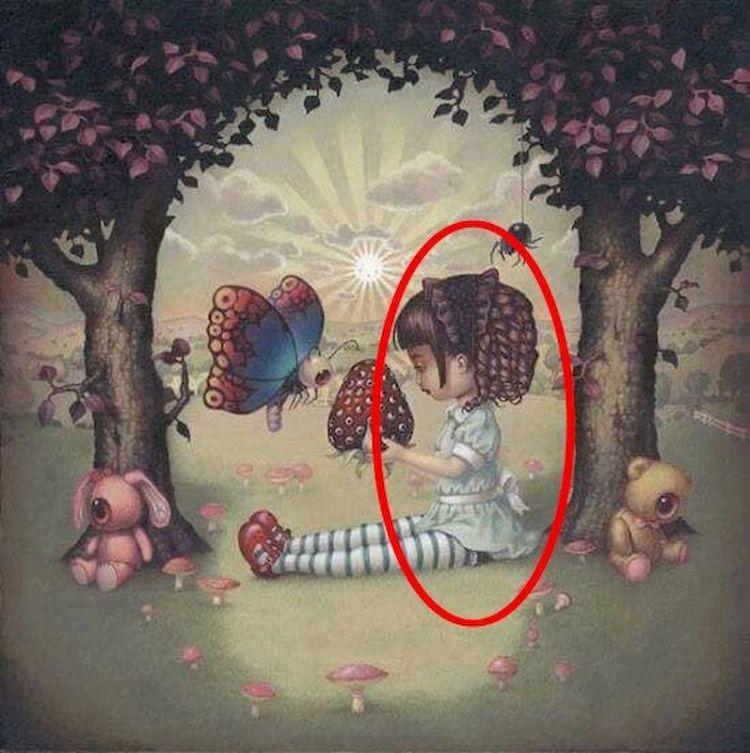 Череп, девочка или деревья: увиденное на картинке расскажет о ваших подсознательных страхах