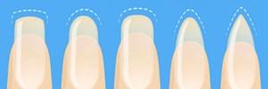 Квадратные или овальные: что форма ногтей может рассказать о вашей личности