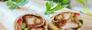 Сочный рулет из лаваша с курицей: вкусная закуска за несколько минут