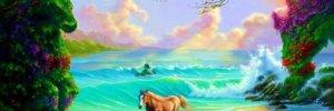 Лишь несколько процентов людей могут найти на картинке всех спрятанных лошадей