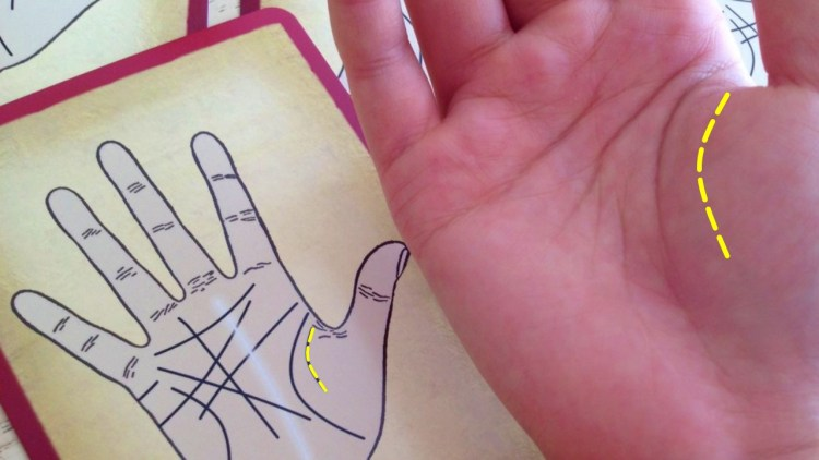 Если у вас есть эта линия ангела-хранителя на руке, можете считать себя счастливчиком