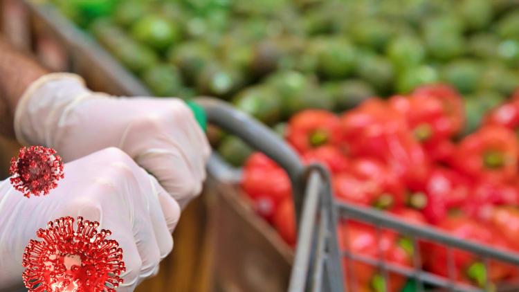 Почему не стоит носить перчатки в продуктовом магазине в эпоху коронавируса COVID-19