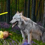 Душевная и захватывающая история о том, как волк по кличке Серый спас своего маленького друга