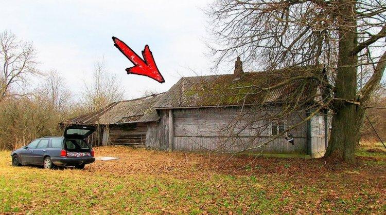 Люди хором хохотали, когда дачник купил 100-летний дом. После ремонта всех настигла черная зависть!